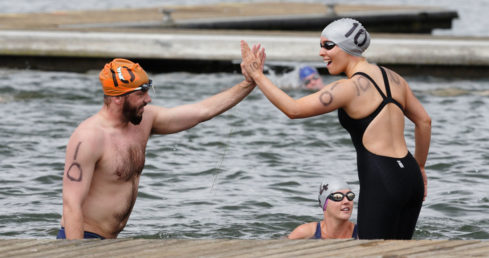 Swim England Open Water Festival competitor information page.