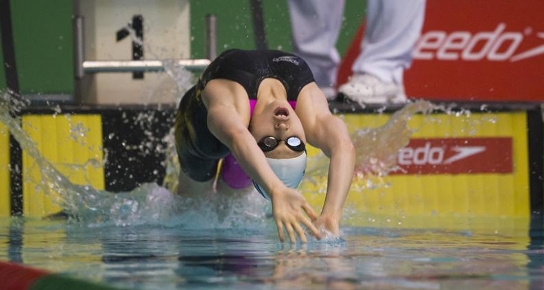 The history of backstroke swimming