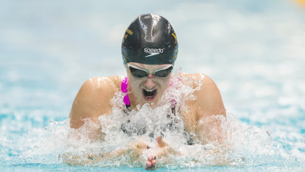 The history of breaststroke swimming