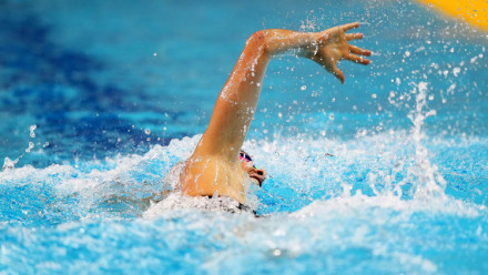 The history of front crawl swimming