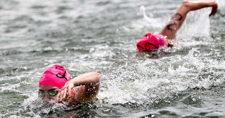 About open water swimming races