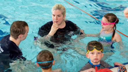 Introducing disability swimming hub clubs