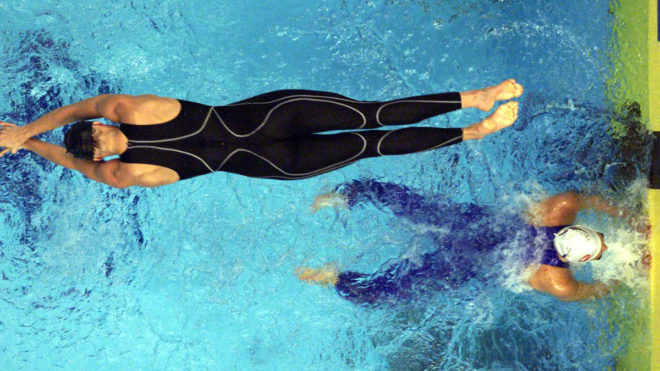 The history of competitive swimwear