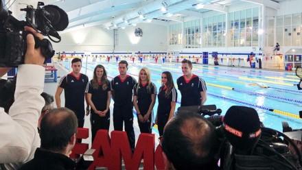 Fourteen English athletes named on Team GB swimming squad