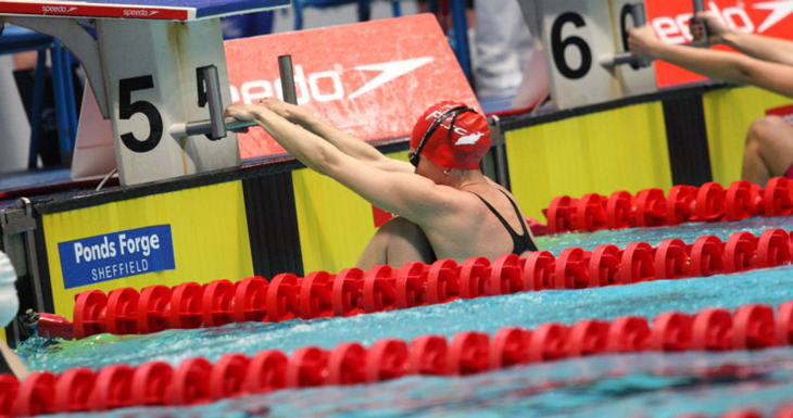 Corben completes hat-trick of backstroke records in Sheffield