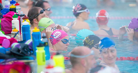 European Masters social for GB Swimmers