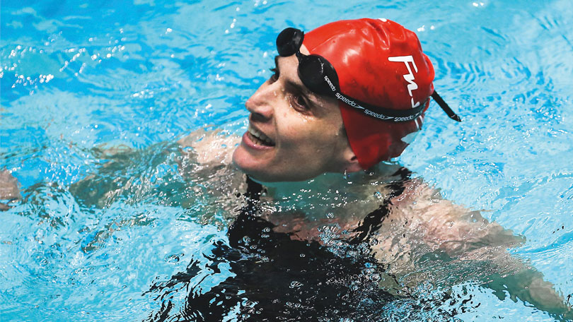 The secret of Masters swimmer Jo Corben's success