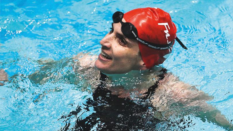 The secret of Masters swimmer Jo Corben's success
