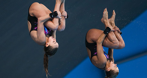 Heartbreak in Women's 10m Synchro final