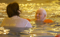 Swimming with dementia in Durham