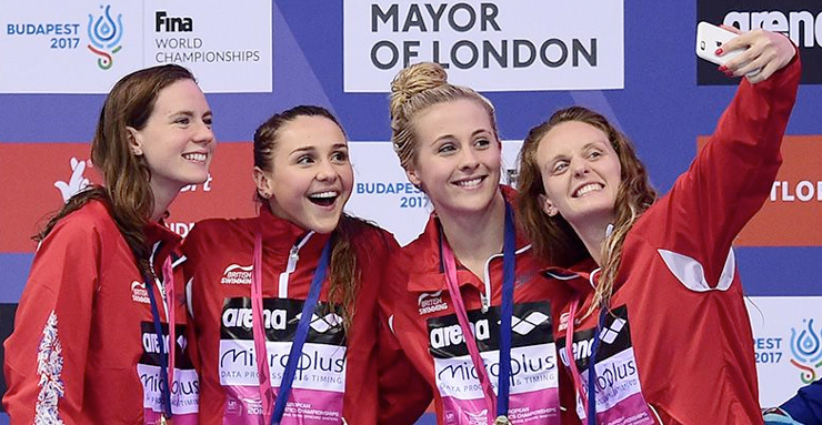 GB win double relay gold on final day of London 2016