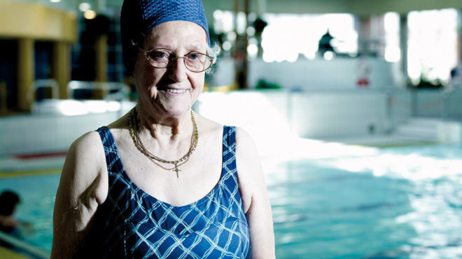 How swimming helps you stay younger for longer