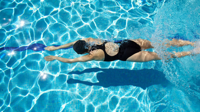 Please don't close pools as swimming helps me escape from my 'living hell of 24/7 pain'