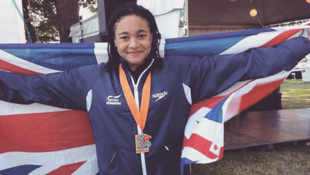 Alice Dearing claims gold at World Junior Open Water Champs