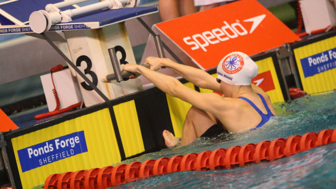 Anna Maine claims 100m Backstroke bronze in Hungary