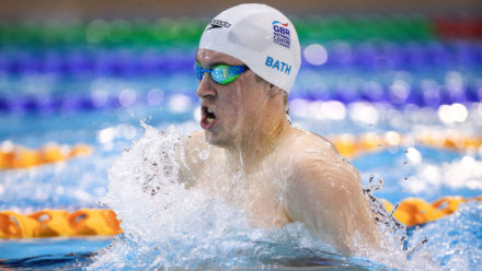 Charlie Attwood completes breaststroke hat-trick on day four