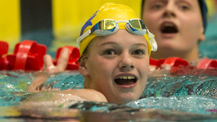 Tia Ward lands fifth gold on day four of Summer Champs
