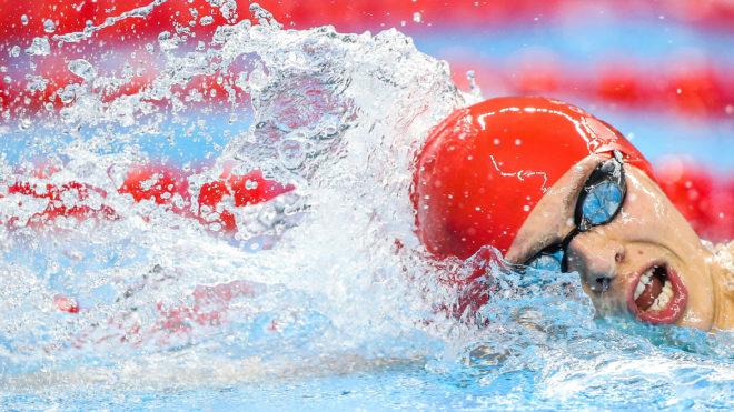 Tom Derbyshire wins 800m Free silver at European Juniors