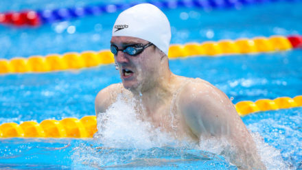 Willis third fastest qualifier in 200m Breaststroke heats