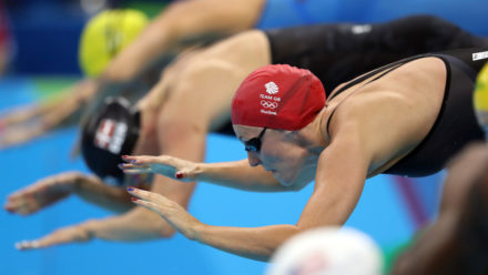 Team GB men fastest into medley relay final