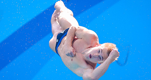Laugher leaps into 3m Springboard final