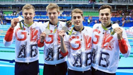 Men's Medley team win silver on last day in Rio