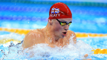 Peaty fastest qualifier for 100m Breast final