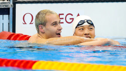 Hynd breaks eight year world record for ParalympicsGB
