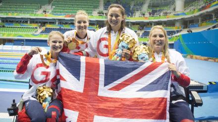 World record for ParalympicsGB relay quartet