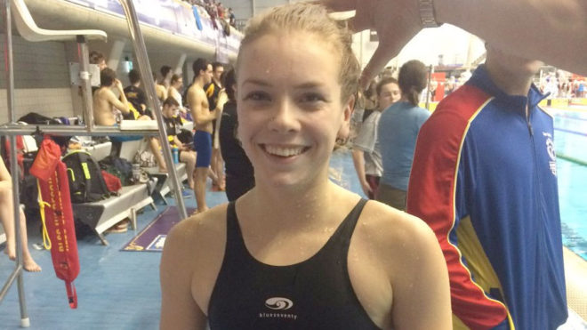 Anna Hopkin lands double gold at BUCS Short Course 2016