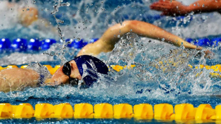 Anderson and Large set British Junior records in Toronto