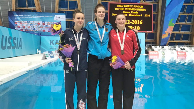 Lois Toulson wins Platform silver for GB's fourth medal in Kazan