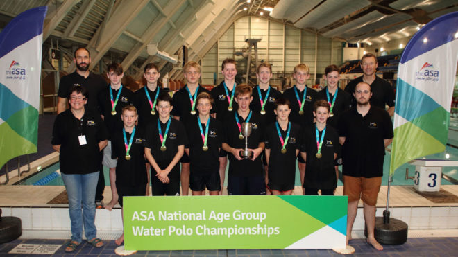 Manchester A win boys' U15 National Water Polo Champs 2016