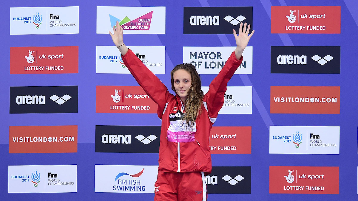Fran Halsall London 2016 European Championships