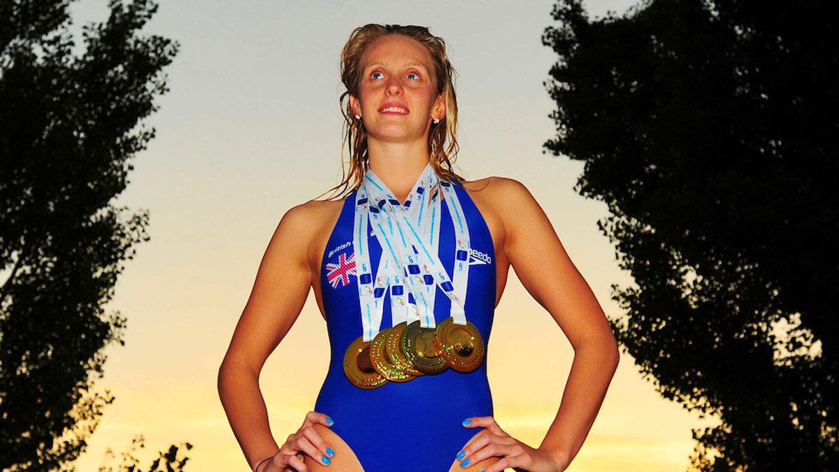 Fran Halsall Budapest 2010 European Championships
