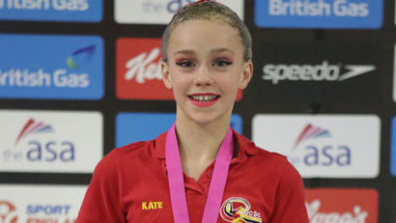 Kate Shortman takes 13/14 Yrs Solo gold