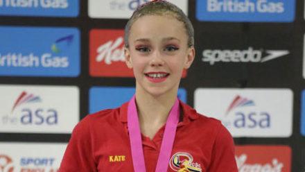 Kate Shortman takes 13/14 Yrs Solo gold
