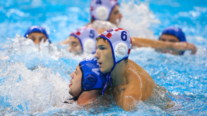 Water polo fouls and physicality