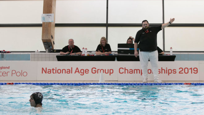 Become a water polo referee