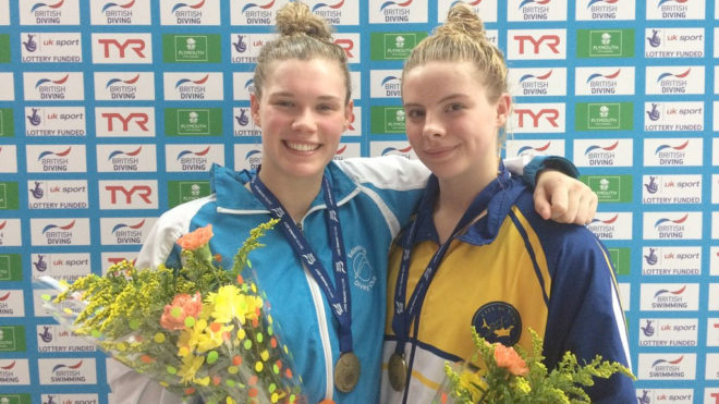 Torrance and Reid combine for 3m Synchro gold