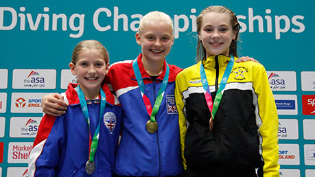 Josephine Zillig wins Group C Platform gold in Sheffield
