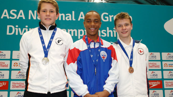 Pele scores first national title on 1m Springboard