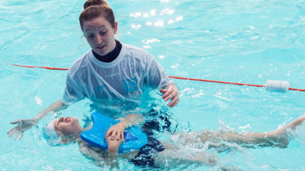 Becoming a swimming teacher
