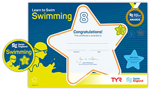 Swim England Learn to Swim Level 8 certificate