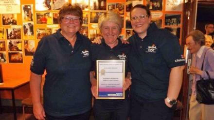 Swim Safe volunteers recongised at South Tyneside Awards
