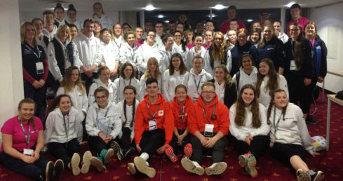 Officials, coaches and athletes represent Swim England at National Talent Camp