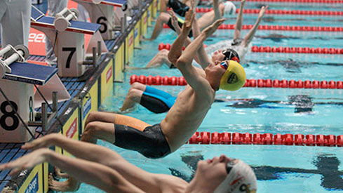 Mason takes first gold on day four