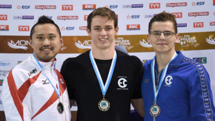 Ben Proud wins butterfly gold on opening night in Marseille