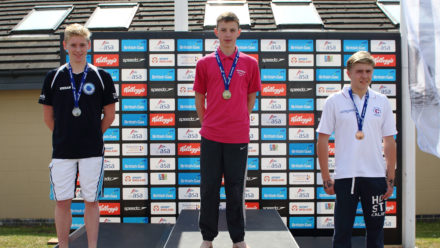Hughes and Branch star at Age Group Open Water Champs