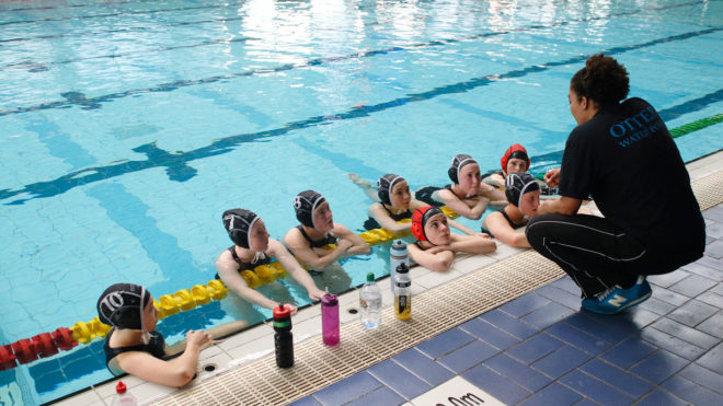 Get Involved with Water Polo Coaching